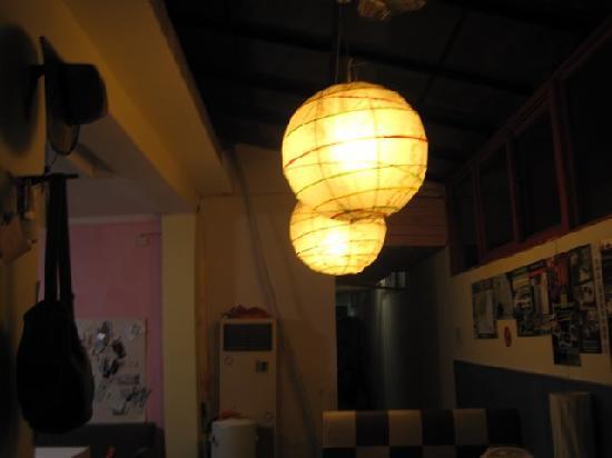 Guoke International Youth Hostel: 客厅