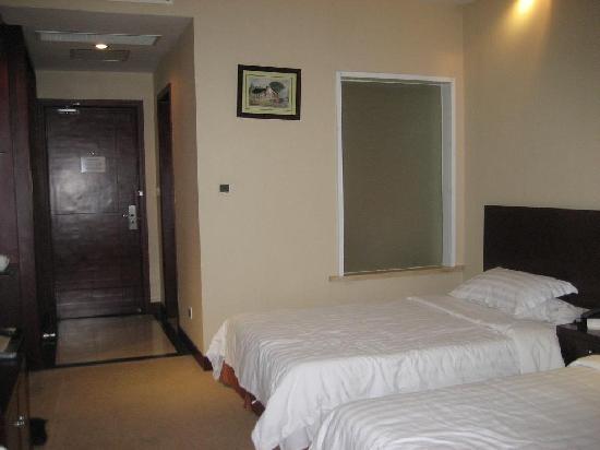 Tianmuhu Holiday Garden Hotel : 床