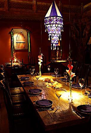 Face Boutique Hotel: 妃思的印度餐厅。