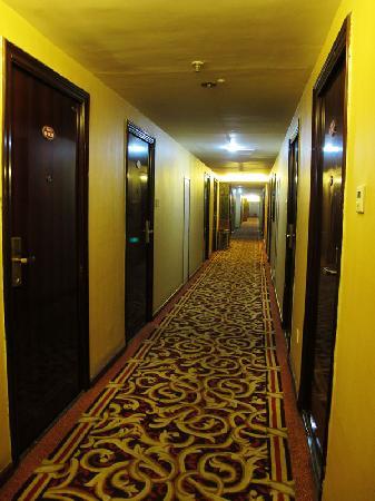 Kaibin Hotel Chengdu Changyi: 客房走廊