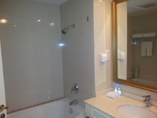 Eiffelton Hotel: 浴缸