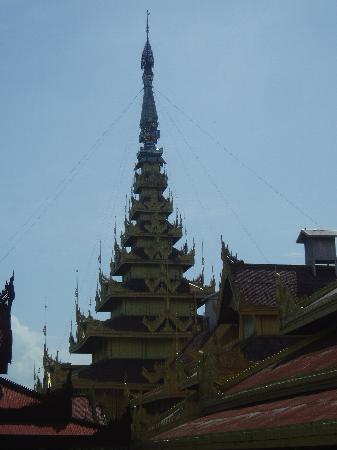 Birmanie (Myanmar) : 缅甸曼德勒皇宫(Mandalay Royal Palace)