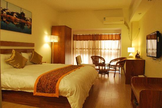 Longyue Apartment Hotel: 时尚公寓房