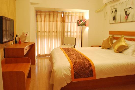 Longyue Apartment Hotel: 景观公寓房
