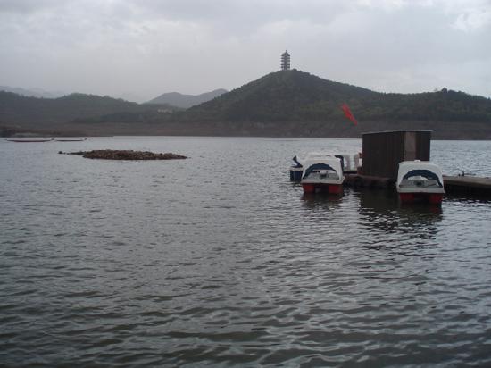 Jinhai Lake Resort: 水上小艇