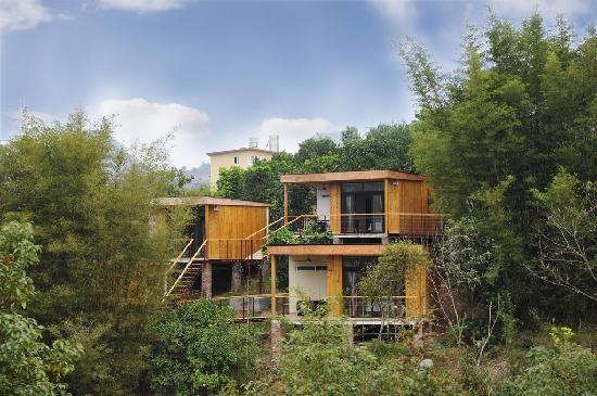 CTN Garden Hotel: 小木屋