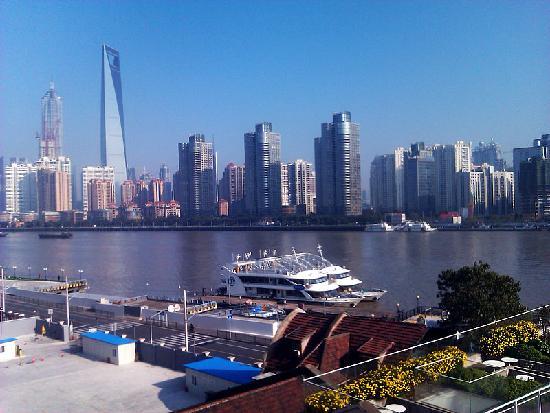 Hanting Express (Shanghai Waitan): 窗外景致很不错