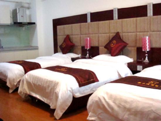 Kangtai Apartment Hotel: 标准多人房