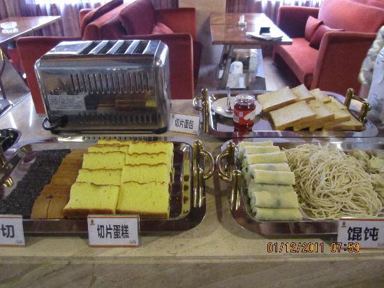 Super 8 Hotel Hefei Xin Tian Di : 有骨头汤混沌,不错!