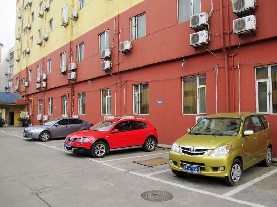 An-e Hotel (Chengdu Shuangnan): 停车场