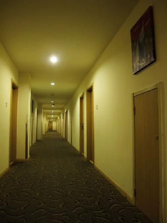 An-e Hotel (Chengdu Shuangnan): 客房外的走廊