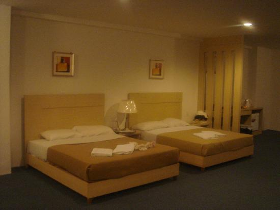 Promenade Hotel Apartments: 4人间双床