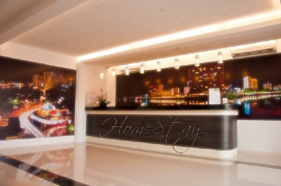 HomeStay Kuching: 酒店接待处