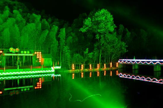 Guniu Villa: 牯牛湖夜景