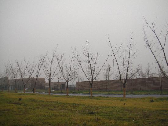Daming Palace Ruins of Tang Dynasty: 玄武门外
