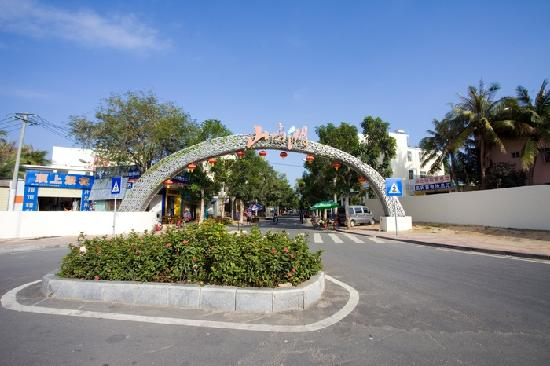 Yangguang Hupan Holiday Apartment : 迎宾路山屿湖入口(内进100米即到达天涯客)