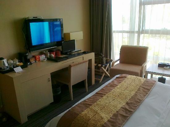 Jinse Yangguang Holiday Hotel: 视野宽广景色不错