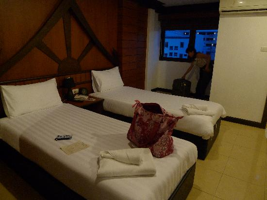 Apsara Residence: 房间的照片,真的很小305房间