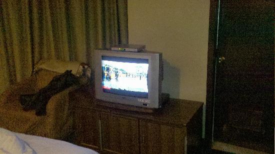 Anguo, סין: 房间里的电视机