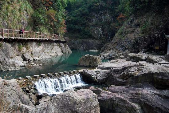 Pan'an County, Chine : 十八涡风景之二