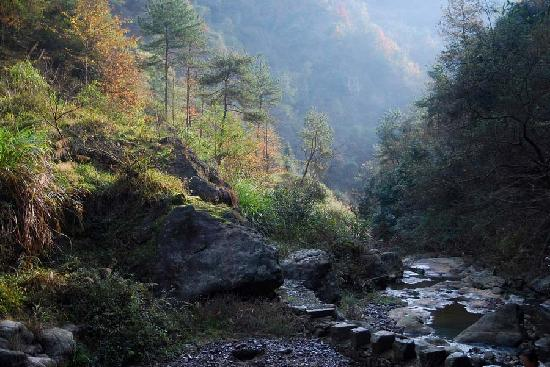 Pan'an County, Chine : 水下孔风景之一