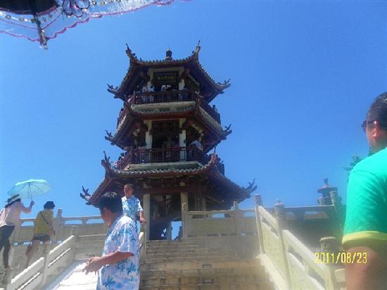 Sanya Redaiyulin Square: 景点上的塔