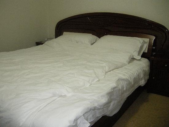 Lushan Hotel (Hexi Road) : 大床有些偏硬