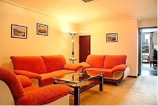 Han Guang Men Hotel: 套房客厅