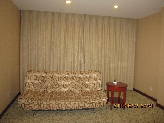 Donglinge Hotel: 客房——相当大的空间