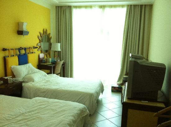 Jindao Jia'ning Haijing Hotel: 酒店房间