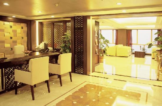 Salvo Hotel Shanghai: 31楼行政接待处