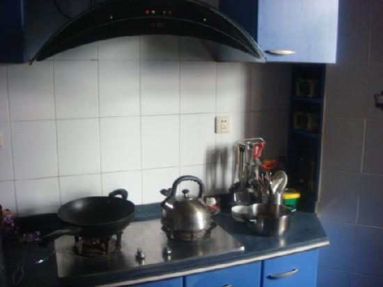Hiker Hostel : 厨房