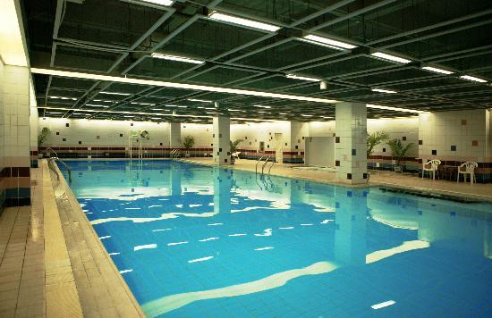 Beijing Scitech Hotel: 游泳池