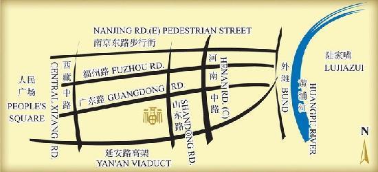 Salvo Hotel Shanghai: 地图