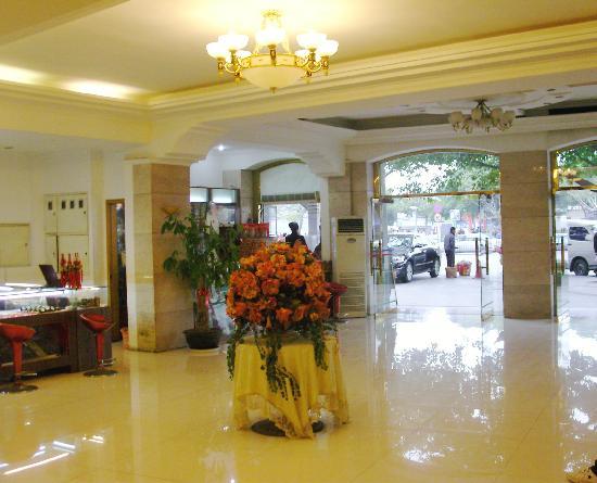 Manxin Hotel Xiamen Zhongshan Road Lundu: 大堂