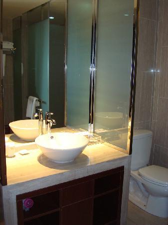 Jinjiang MetroPolo Hotel Baohe: 独立卫生间