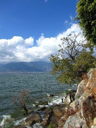 Nanzhao Customs Island: 岛上拍的,还是蛮漂亮的