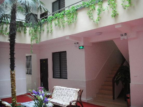 77 Hao Apartment : 酒店中庭