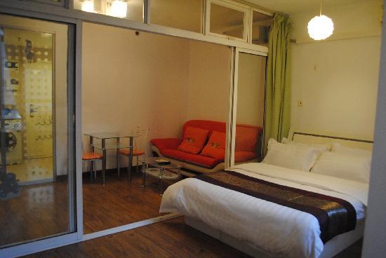 Sidijia Service Apartment Shanghai Shengtiandi: 都市家园圣天地店一室一厅