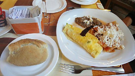 Mision Guanajuato: Misión Guanajuato餐厅食物1