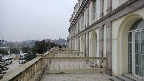 Tianducheng Resort: 酒店客房的阳台