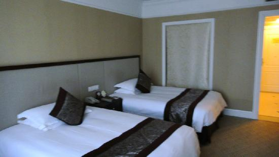 Tianducheng Resort: 酒店双人间内景