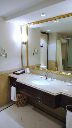 Tianducheng Resort: 酒店客房卫生间1