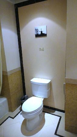 Tianducheng Resort: 酒店客房卫生间2