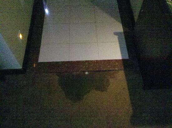 Hollyear Hotel Dahan: 房间内污渍