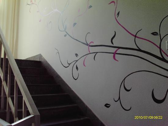Qingdao Sunshine126 Sunshine Inn : 走廊