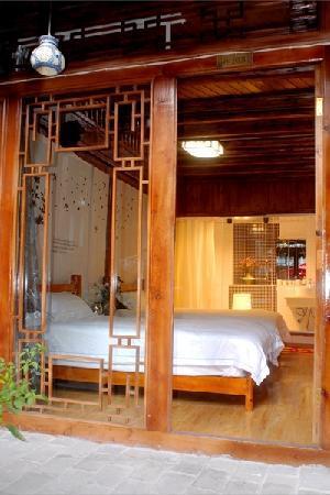 Tonghua Guest House (Xixili Villa): 木质格子窗