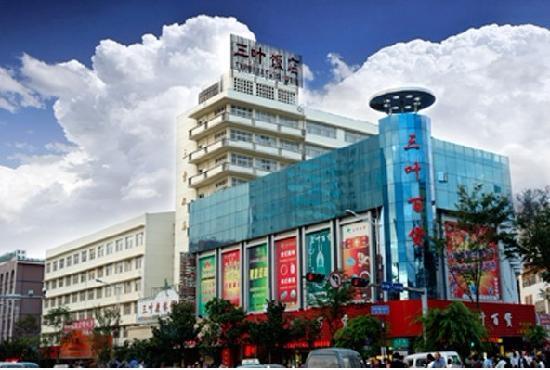 Three Leaves Hotel : 酒店外景