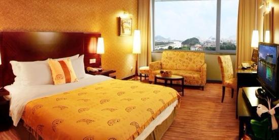 Lijiang Waterfall Hotel: 江景大床房