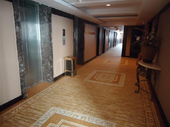 Jinyu International Hotel: 走廊